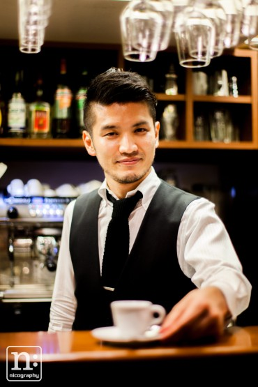 Barista of Per tossini.
